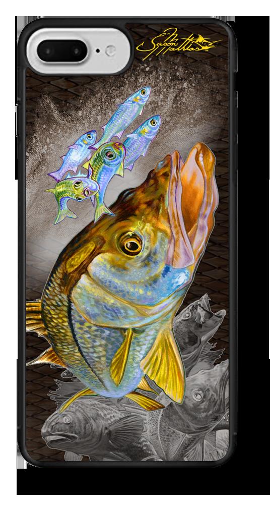 iphone-7-plus-case-cover-slim-fit-snook-redfish-trout-fishing-gamefish-sportfishing-outdoor-rugged-jason-mathias-art-gift-ideas.png